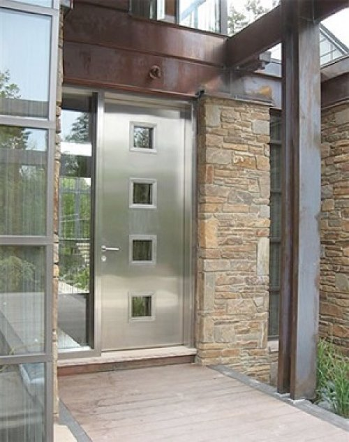 Top 10 right entry door designs 2018 interior exterior for Metal entry doors