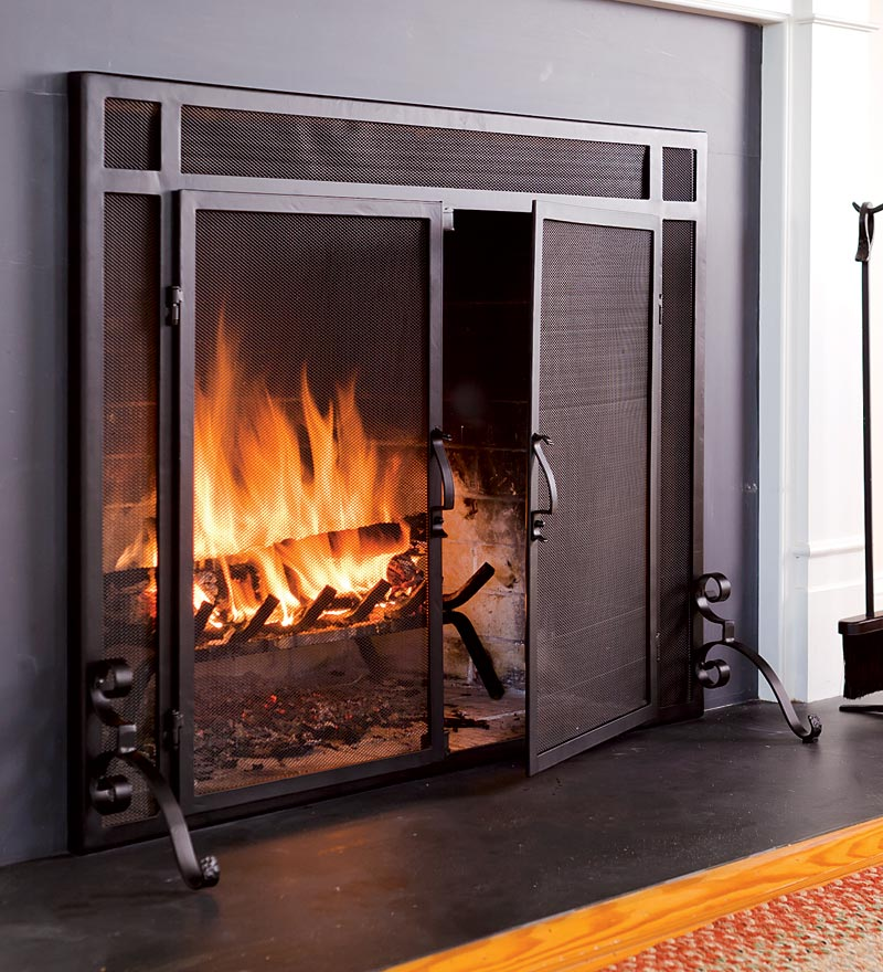 10 Fireplace Doors Are Directly Associated With Your Home S Safety Interior Exterior Ideas