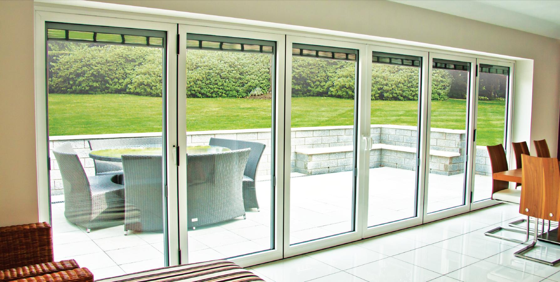 Folding Bifold Doors : Folding door design ideas interior exterior