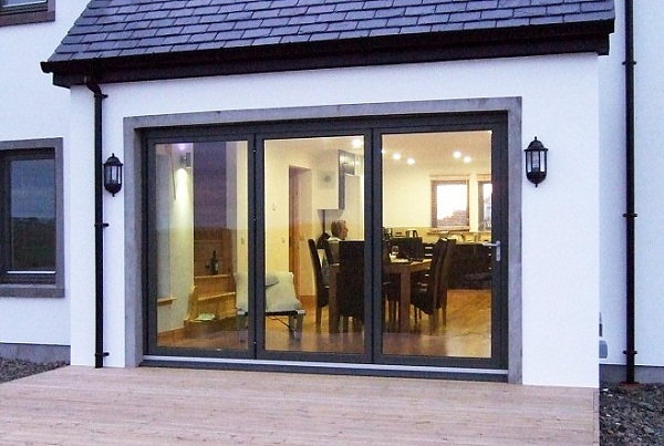 Doors Exterior Folding : Folding door design ideas interior exterior