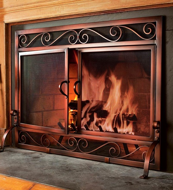 custom fireplace doors 1