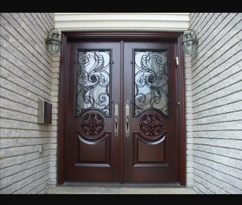 double entry doors 1 - Exterior Double Doors