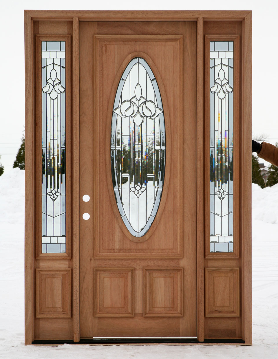 10 stylish and grate entry door designs interior for All door design