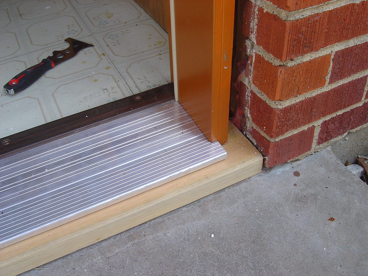Door Extension Sill U0026 White Sloped Sill Pan Extension  Flashing