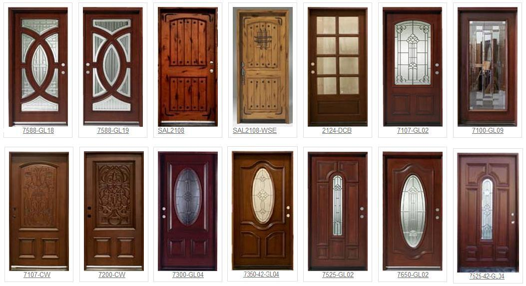 10 best tips when buying your exterior doors to make that for Wood exterior front doors
