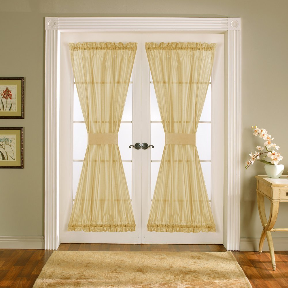 Curtains For Double French Doors Curtains for Single Doors