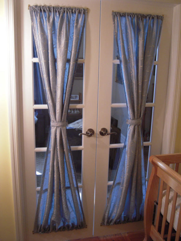 french door curtains 2