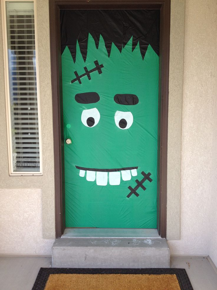 11 halloween door decorations interior exterior ideas for Door decorating ideas