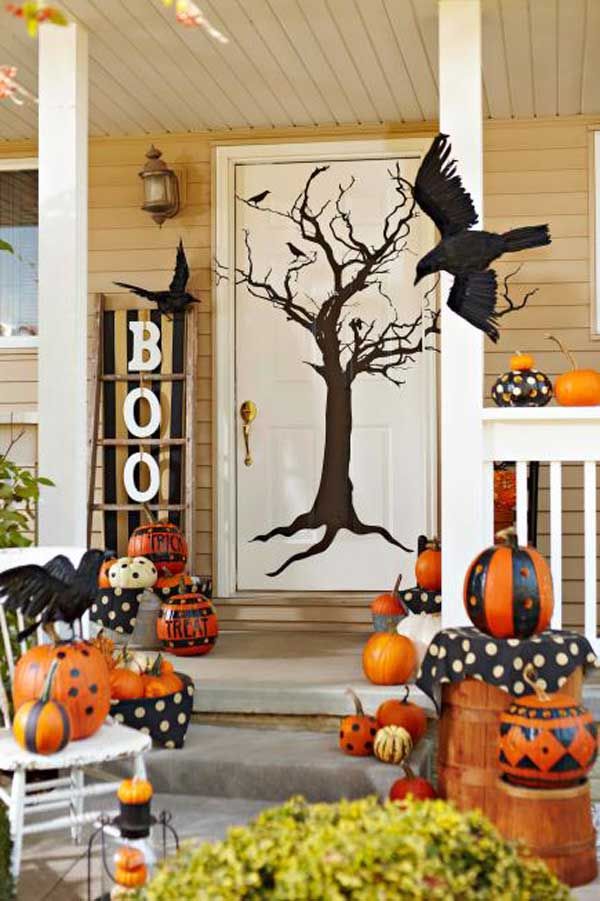 Halloween door decorations 3 interior exterior ideas - Decoration de porte halloween ...