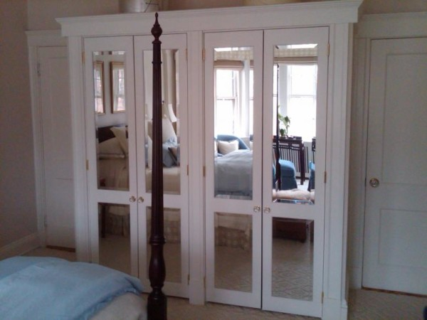 mirrored closet doors 1