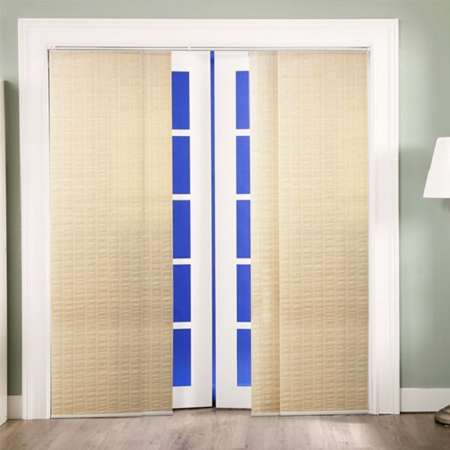 Door Panel Curtains 4 Sliding Door Curtains 1