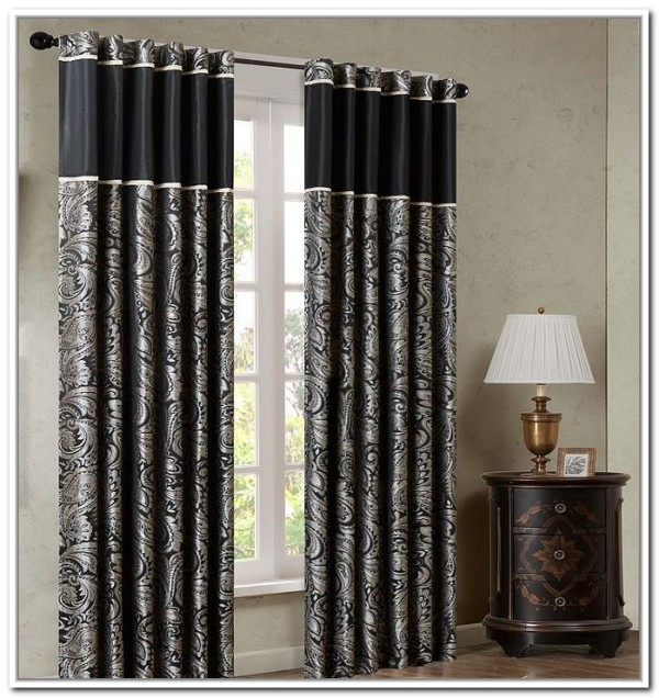 sliding door curtains 2