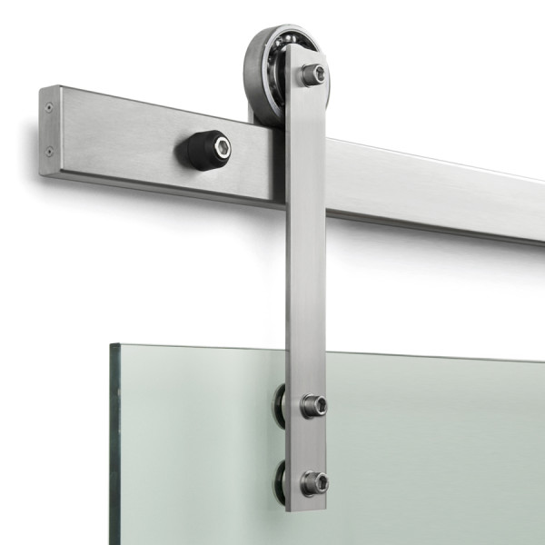Sliding door handle sets sliding barn door hardware connecting