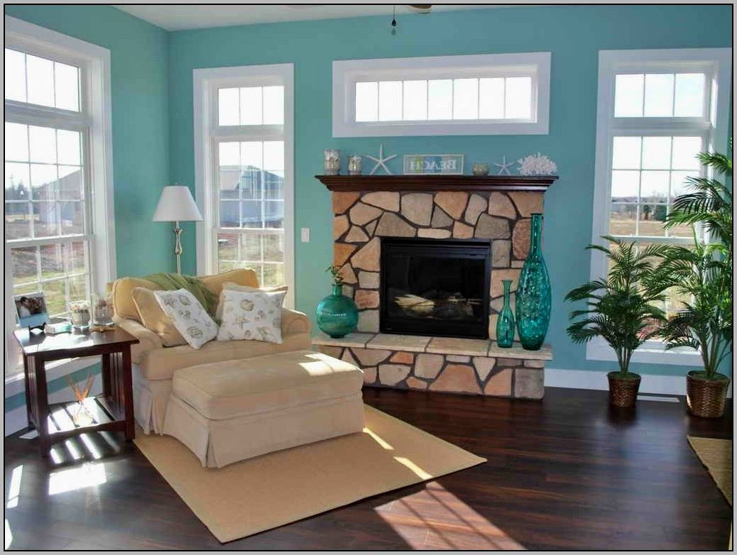 Beach house interior paint colors how to make your home for Home design room colors