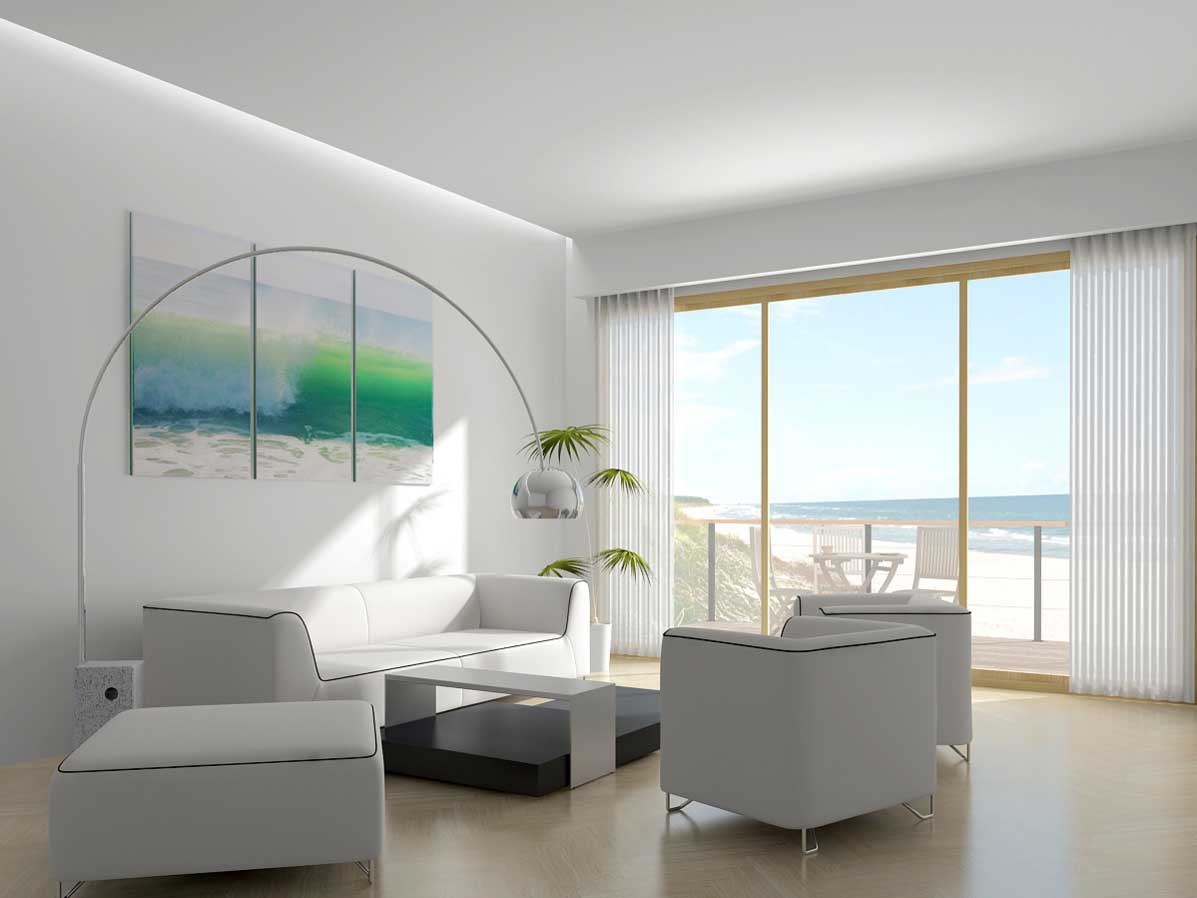 Beach house interior paint colors how to make your home for How to paint my house interior