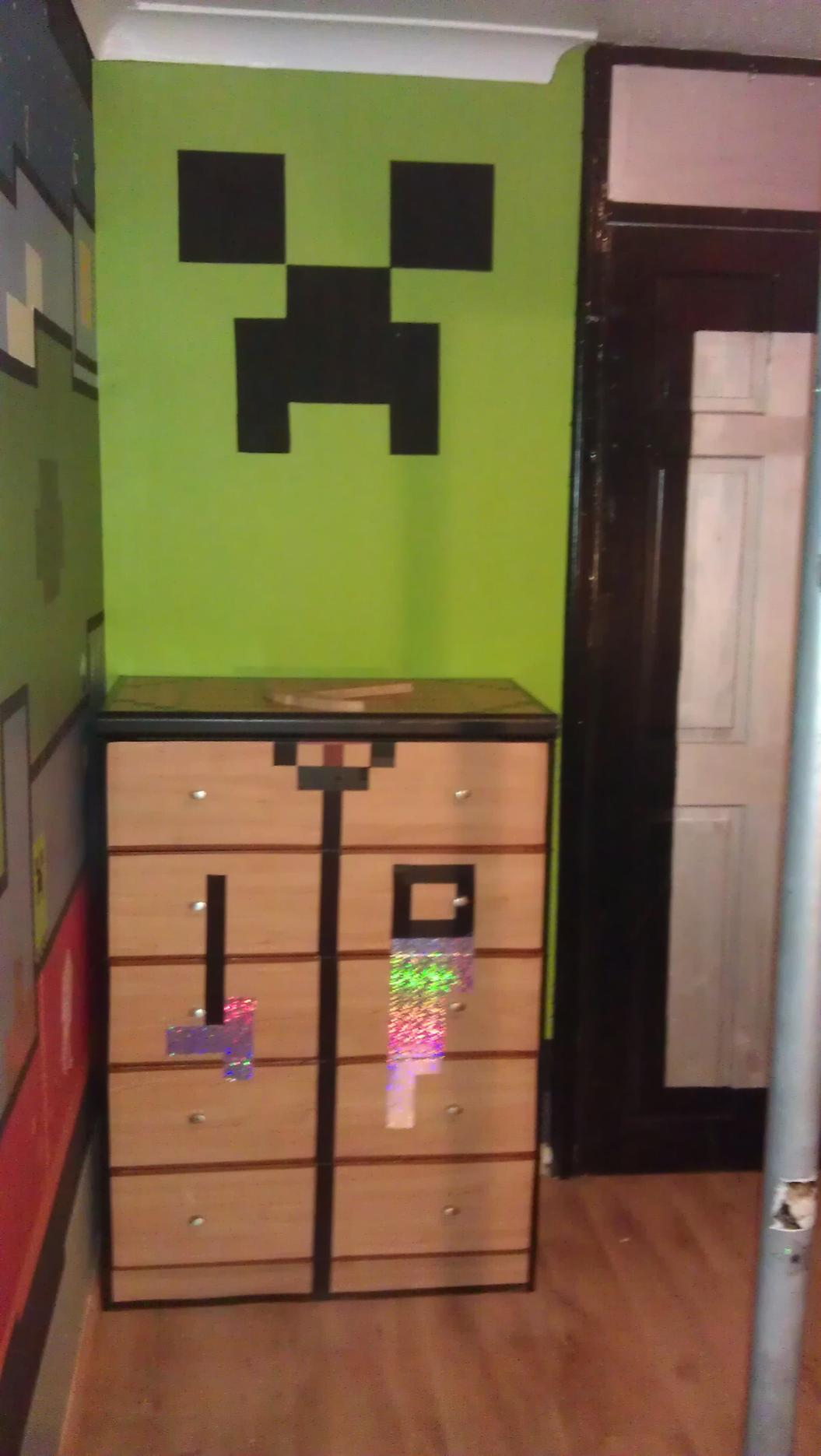 Minecraft bedroom set for Minecraft bedroom set