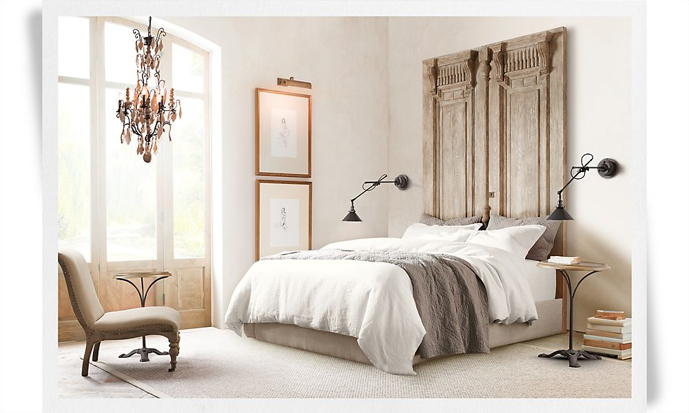 Bedroom Furniture Sets Restoration Hardware Interior