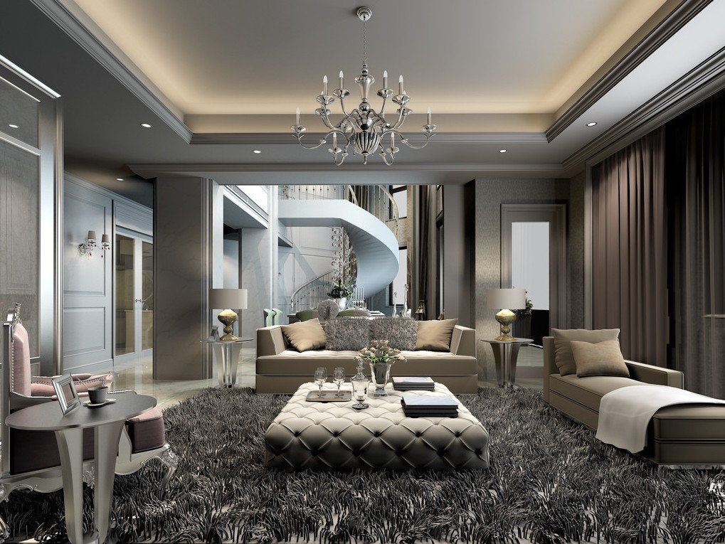 Creative living room interior design interior exterior for Interior and exterior designs
