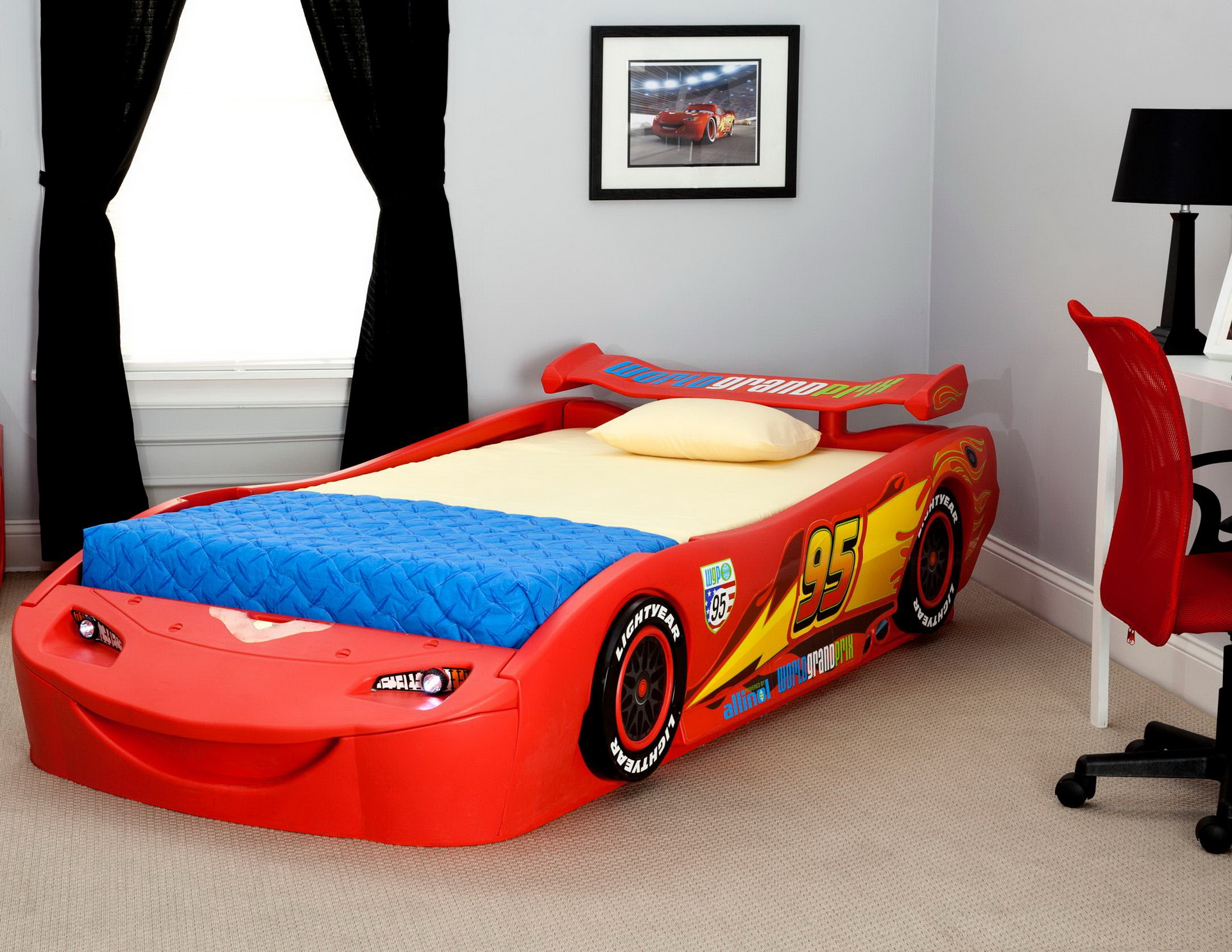 Disney cars toddler bed kids - 10 ways to ensure your child\'s ...