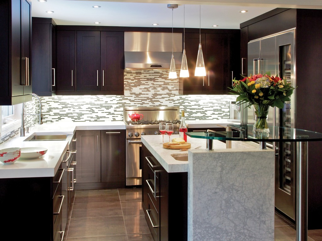 Awesome Elegant Kitchen Design Photo 6 Part 3
