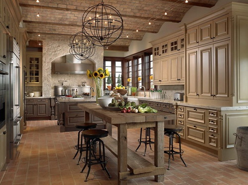 French Country Kitchen Bar Stools Photo 9