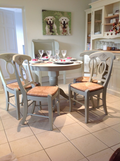 French Country Kitchen Tables And Chairs Interior