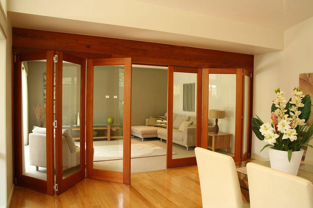 French doors interior bifold give your home the best for Interior folding doors