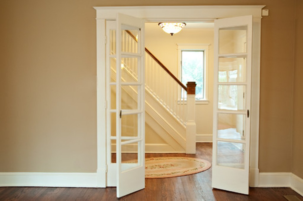 French doors interior bifold give your home the best for Folding french doors