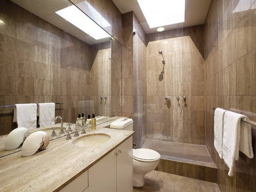 Home bathroom ideas interior exterior doors for Home restroom ideas