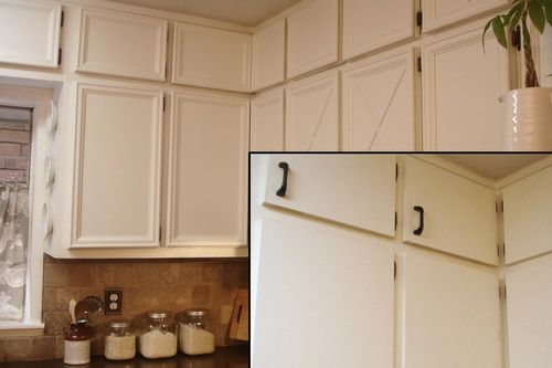 Decorating cabinet door trim inspiring photos gallery for Kitchen molding ideas