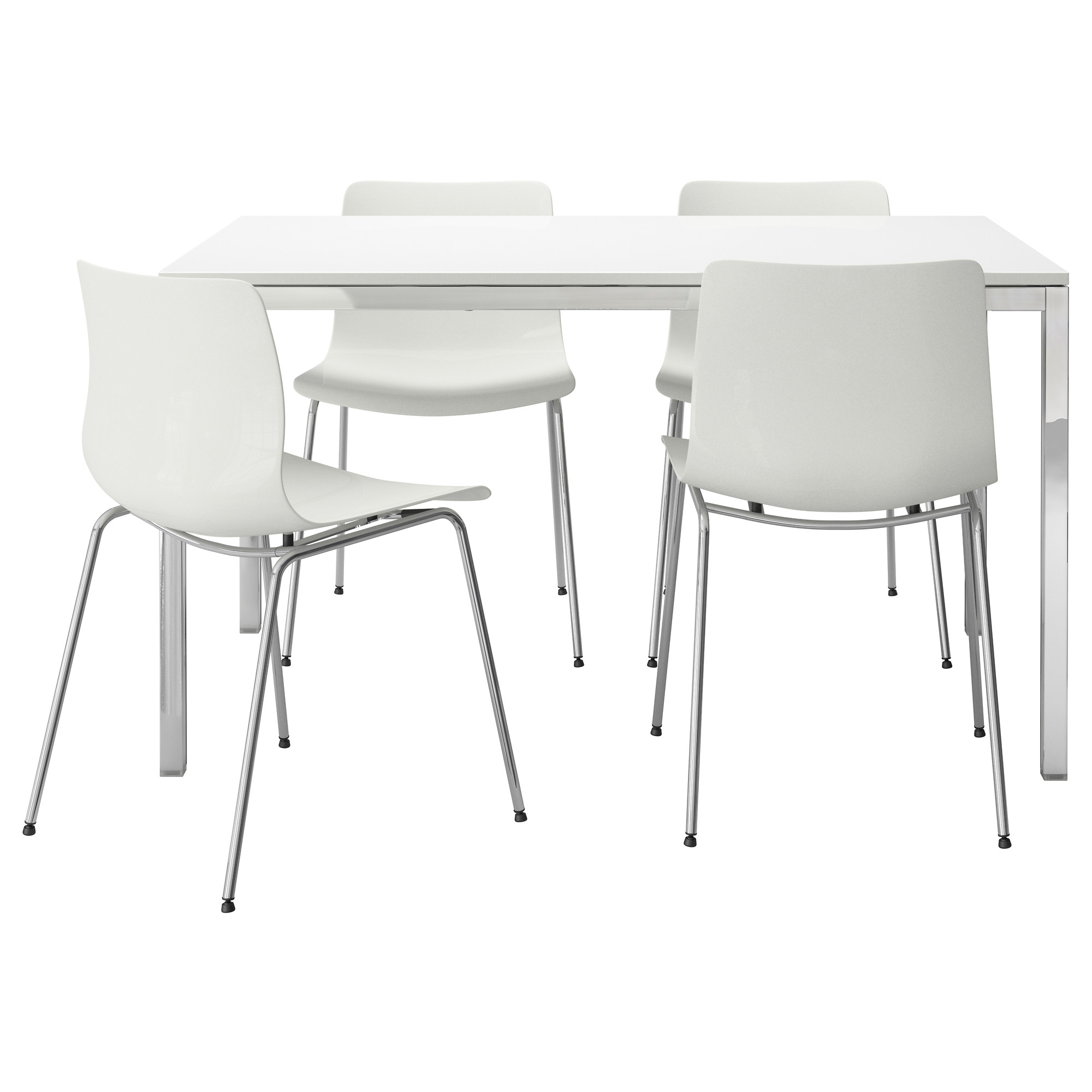Retro Aluminum Kitchen Chairs