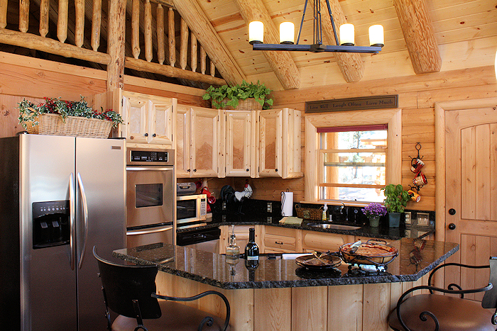 cabin kitchen home design ideas pictures remodel and decor - Cabin Kitchen Ideas