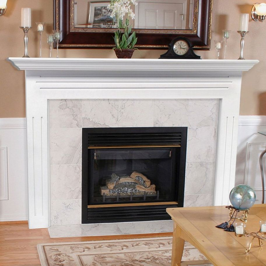 Marble fireplace surround ideas bring a warm Fireplace surround ideas
