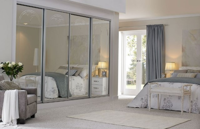 Beautiful Sliding Mirrored Closet Doors For Bedrooms Pictures ...