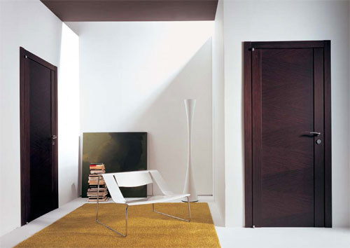 Modern bedroom door designs 18 ways to fit your interior for Interior door styles for homes