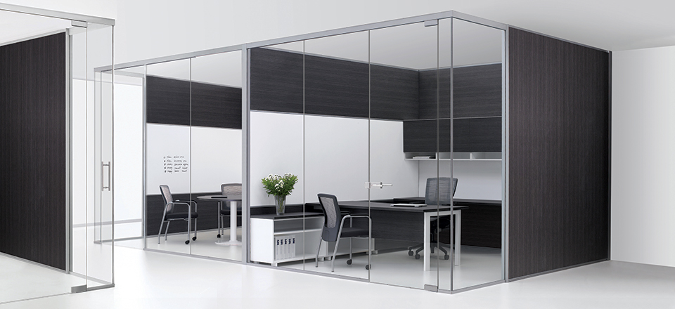 Making Your Working Space Unique And Enjoyable With Office Cubicle Glass Walls Interior