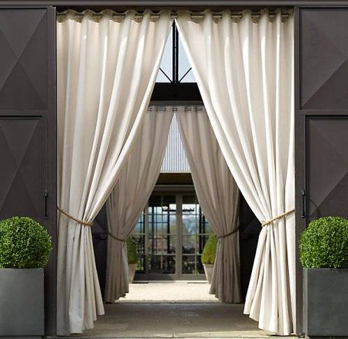 Outdoor curtains ballard designs – 15 ways to make it fascinating and bright