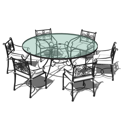 outdoor-dining-sets-iron-photo-25
