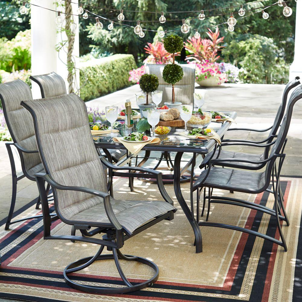 Shop sanikarginet.ml, for a wide variety of dining sets, from elegantly designed tables with stone tops and ornate-backed chairs, to plastic picnic tables designed specifically for the kids. Choose from patio sets with or without cushions, or tables that seat four or eight people.