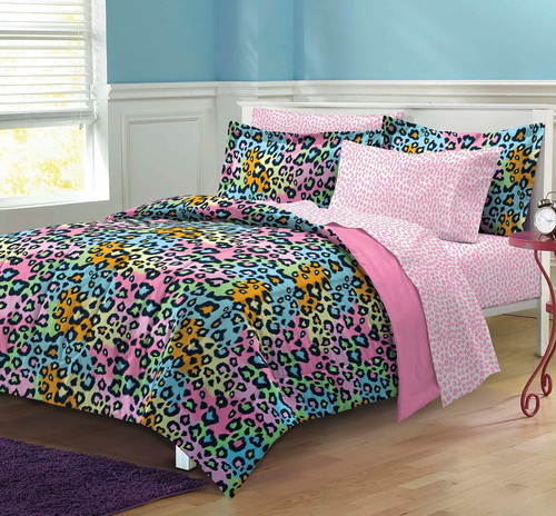 Rainbow-cheetah-bedding-photo-7