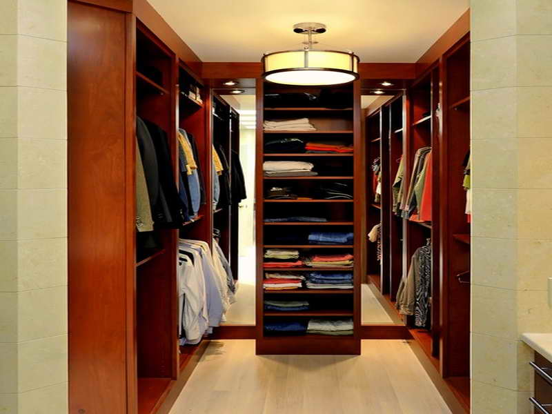 Small Closet Design Ideas small closet design idea with blue and white color made from wooden material with nice closet Walk In Closet Designs Plans Photo 16 Small Walk In Closet Design Ideas