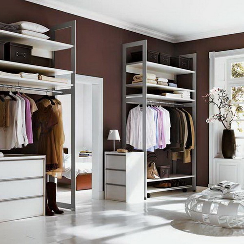 Step By Step Small Dressing Rooms