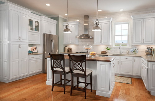 White Kitchen Cabinets From Lowes Photo 5