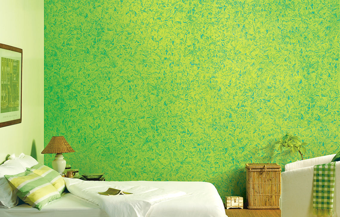 The stroke of a thousand painters asian paints acrylic for Asian paints textured wall decoration
