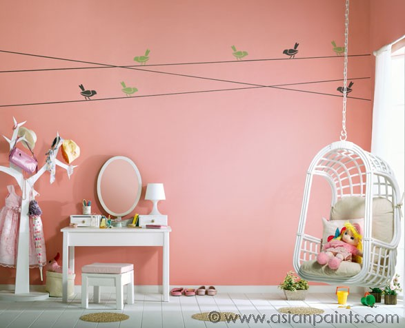 TOP Asian paints colour shades for kids room 2018