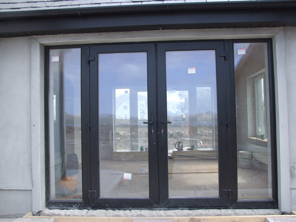 10 magnificent black french exterior doors photos for Interior exterior french doors