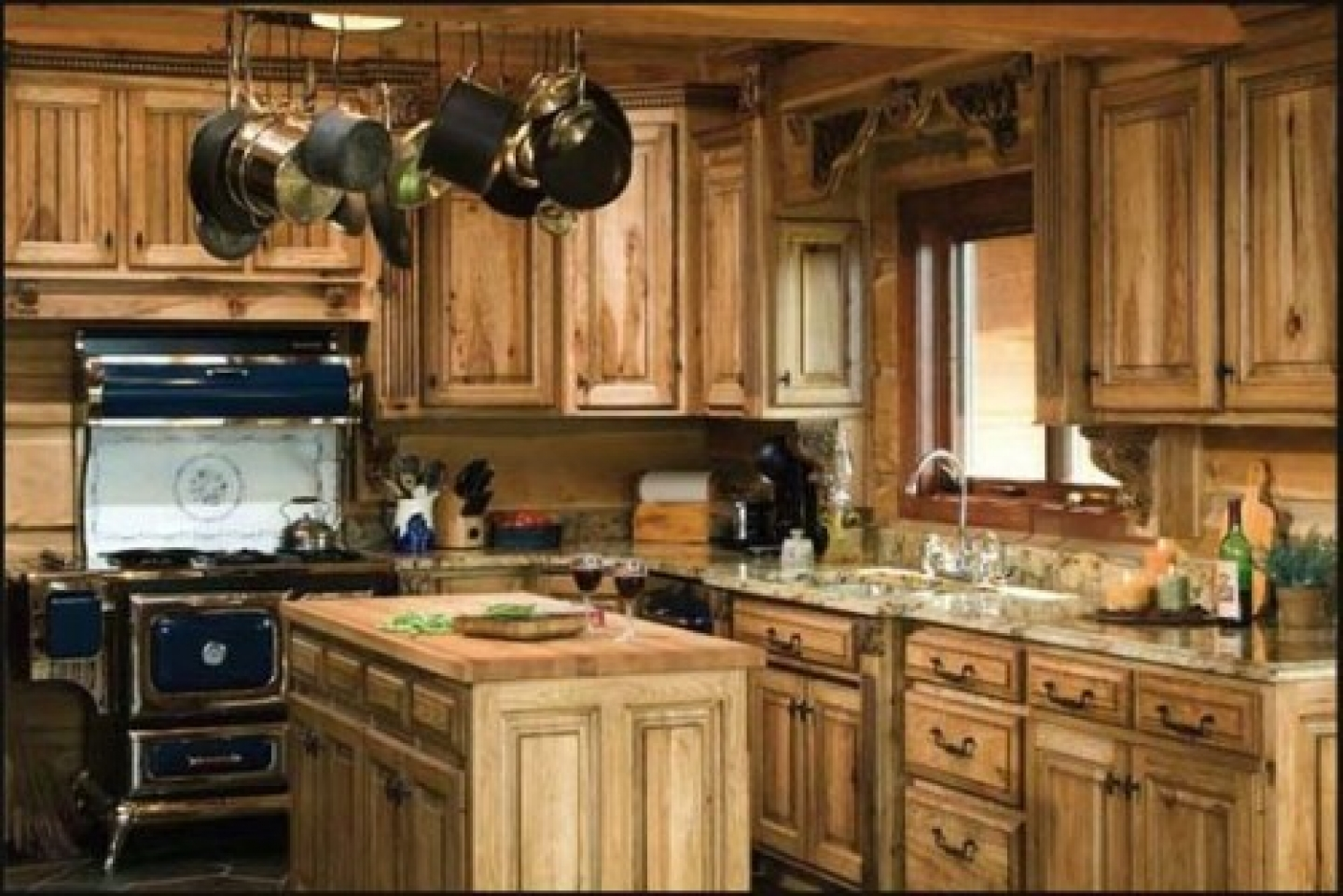 Country kitchen cabinet design ideas