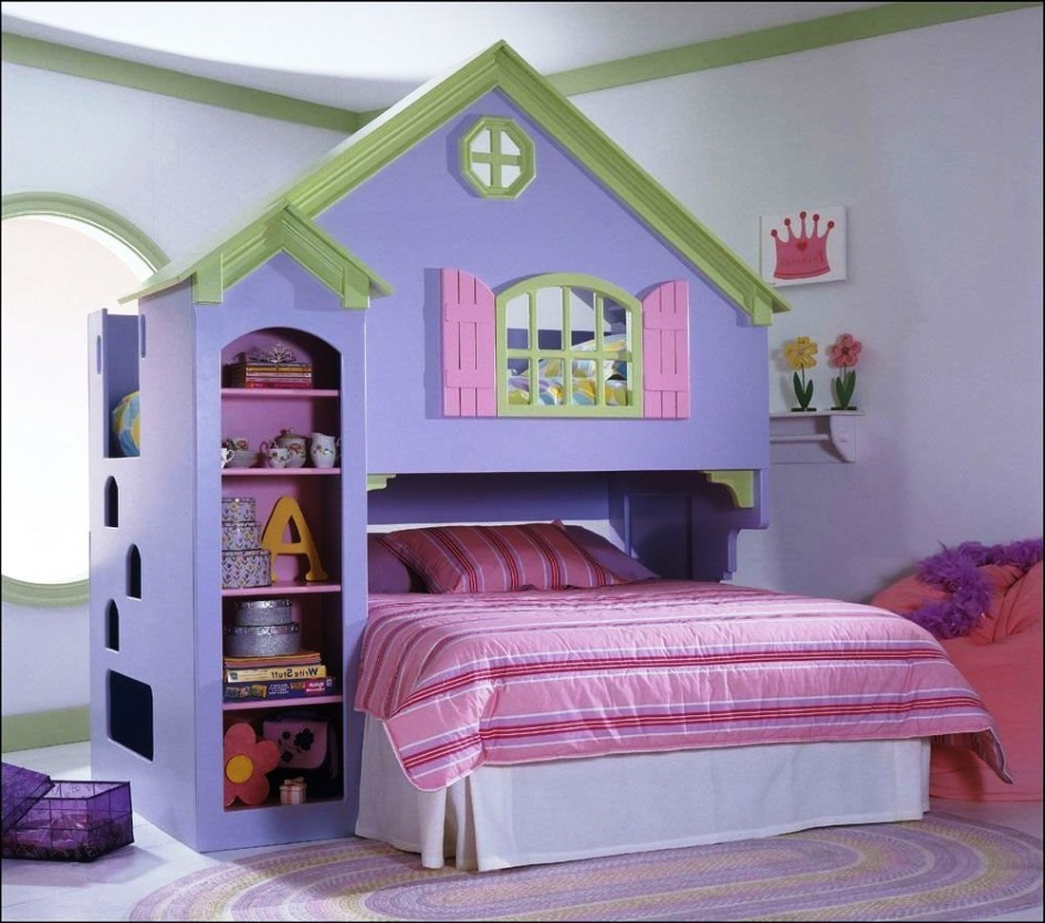 20 features you should know about dollhouse bedroom for Princess bed blueprints