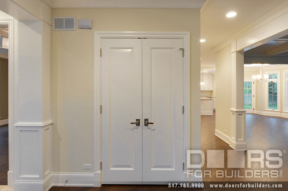 Double french closet doors interior exterior doors for Exterior closet doors