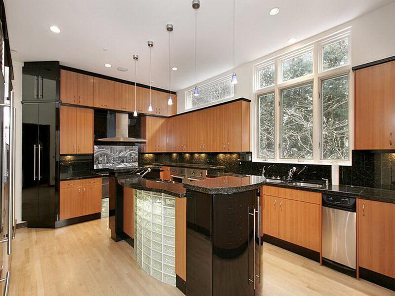 elegant black kitchen cabinets interior exterior doors